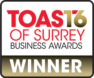 GTM Winner Toast of Surrey Business Awards 2016