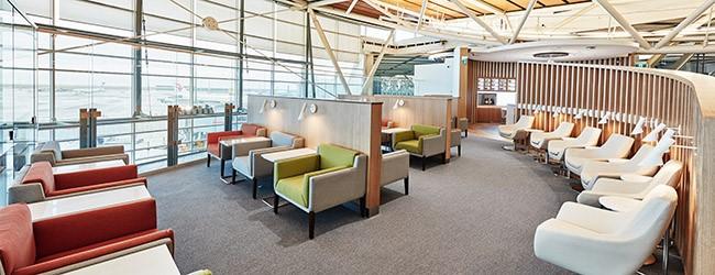 SkyTeam Lounge YVR