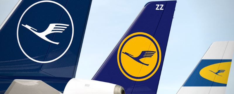 Lufthansa Group tails