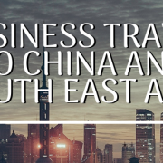 Alternate Business Travel to China and South East Asia