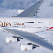 An Emirates A380 - the airline has reduced its orders from Airbus who have, in turn, announced that the aircraft will end manufacture