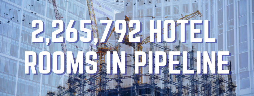 2,265,792 hotel rooms in pipeline