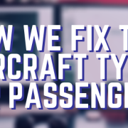How we fix the aircraft type for passengers